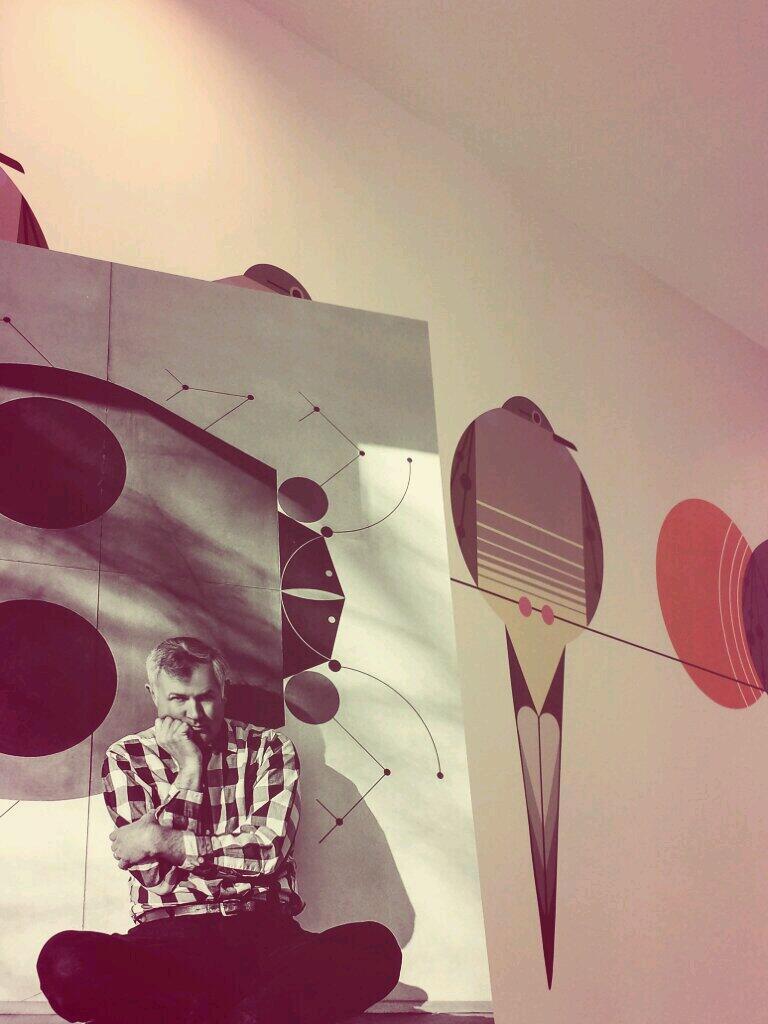 Showroom Open House for the Design Community - artwork by Charley Harper