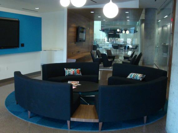 University of Arizona Health Sciences Building Lounge Area