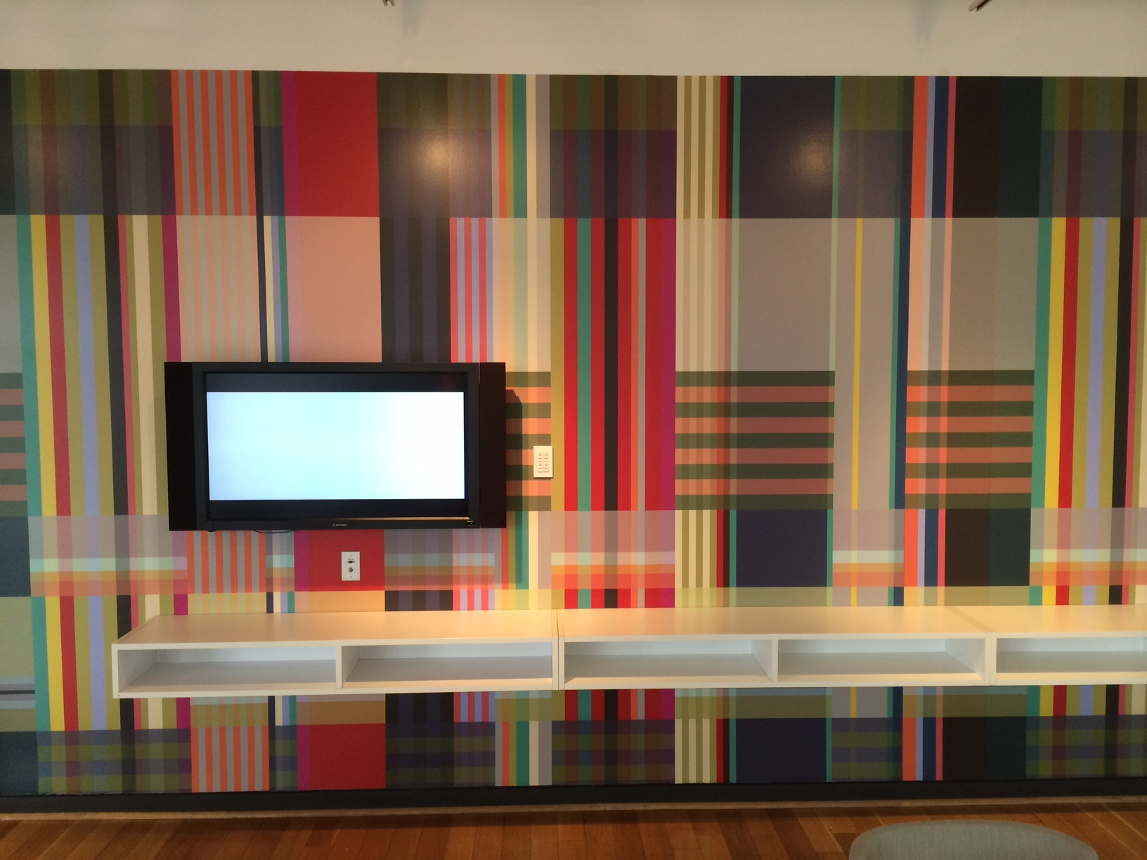 3M, DesignTex and Wallace Sewell installation