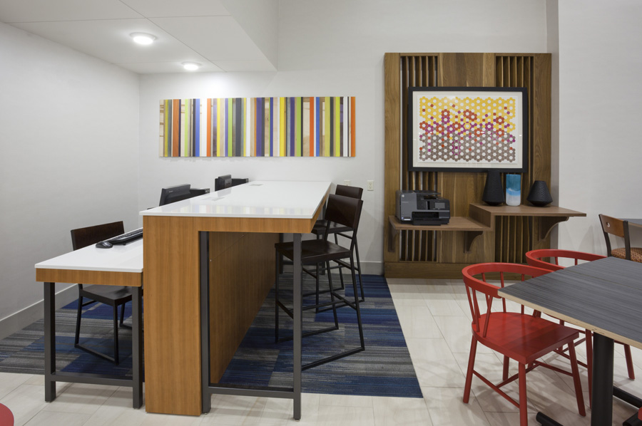 Holiday Inn Express - a Hospitality Project by Atmosphere Commercial Interiors Hospitality Procurement Advisory